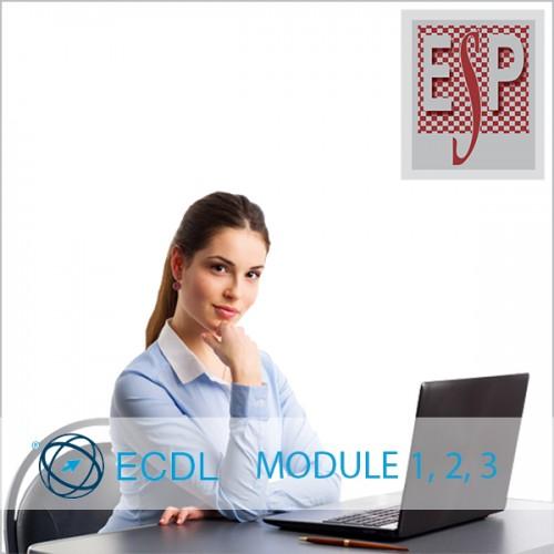 Подготовка за ЕЦДЛ тест, Модули 1, 2 и 3